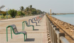 Places of entertainment and shopping at Yanbu City