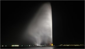 King Fahad Fountain, Jeddah, Makkah