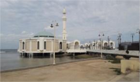 Masjid Al Rahma - Floating Mosque, Jeddah, Makkah